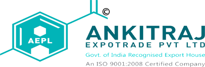 Ankitraj Expotrade pvt.ltd. is an Govt of india recognised export house and ISO 9001 : 2008 certified manufacturers,exporters,suppliers of inorganic chemicals like hydrochloric acid,sulphuric acid,nitric acid,glacial acetic acid,ethyl acetate,ferric chloride, aluminium  sulphate,absolute alcohol,extra neutral alcohol,liquid glucose, maize / corn starch, ammonium bi carbonate,mix solvents,liquor ammonia,sodium silicate,corn syrup,jaggery powder,fly ash,  soyabean,quartz powder,totapuri mango pulp from inda