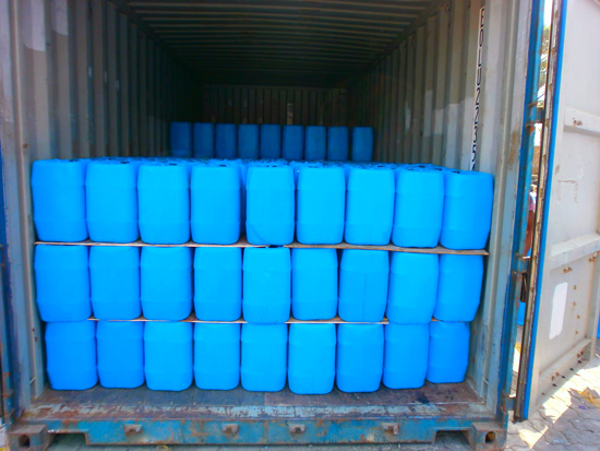 Chemical Drums Packing